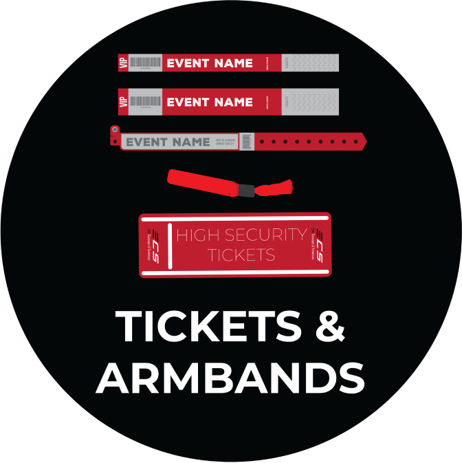 Tickets and Armbands